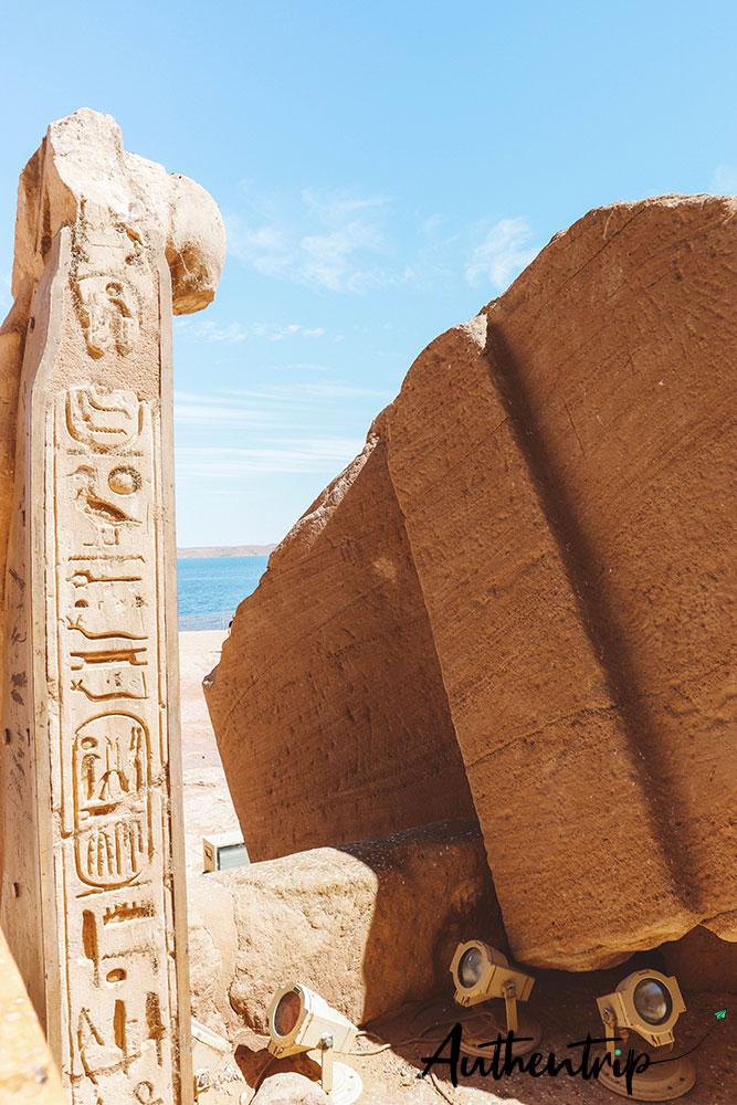 Lac Nasser et Abu Simbel