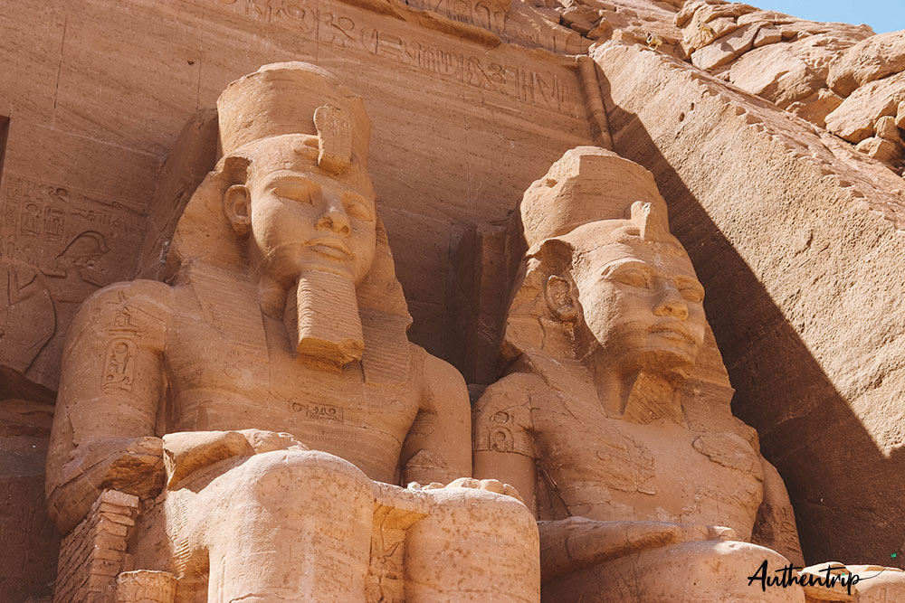 statues de Ramses II, Abu Simbel