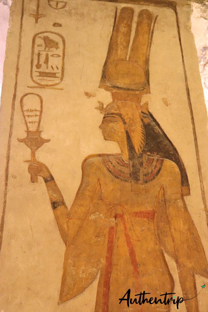tableau de Nefertari