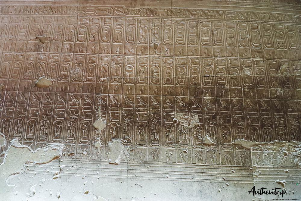 cartouches abydos