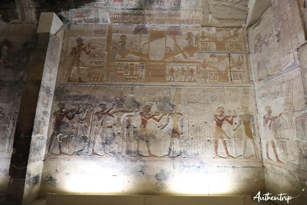 fresque abydos