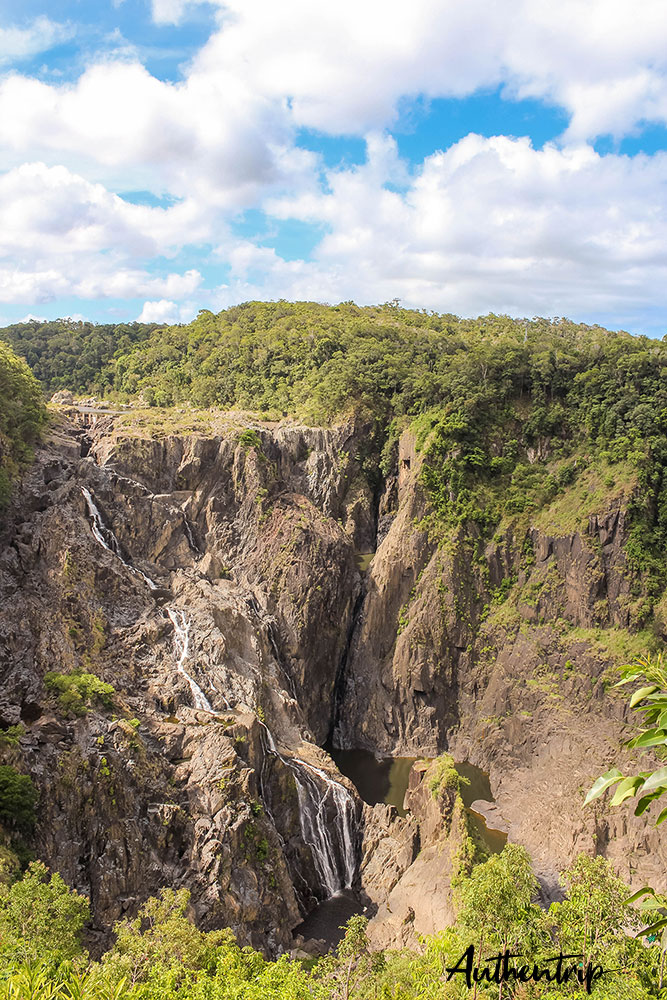 chutes d'eau à Kuranda
