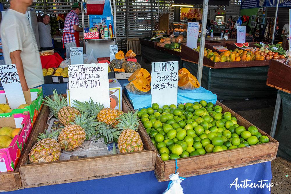 ananas et citrons, carins