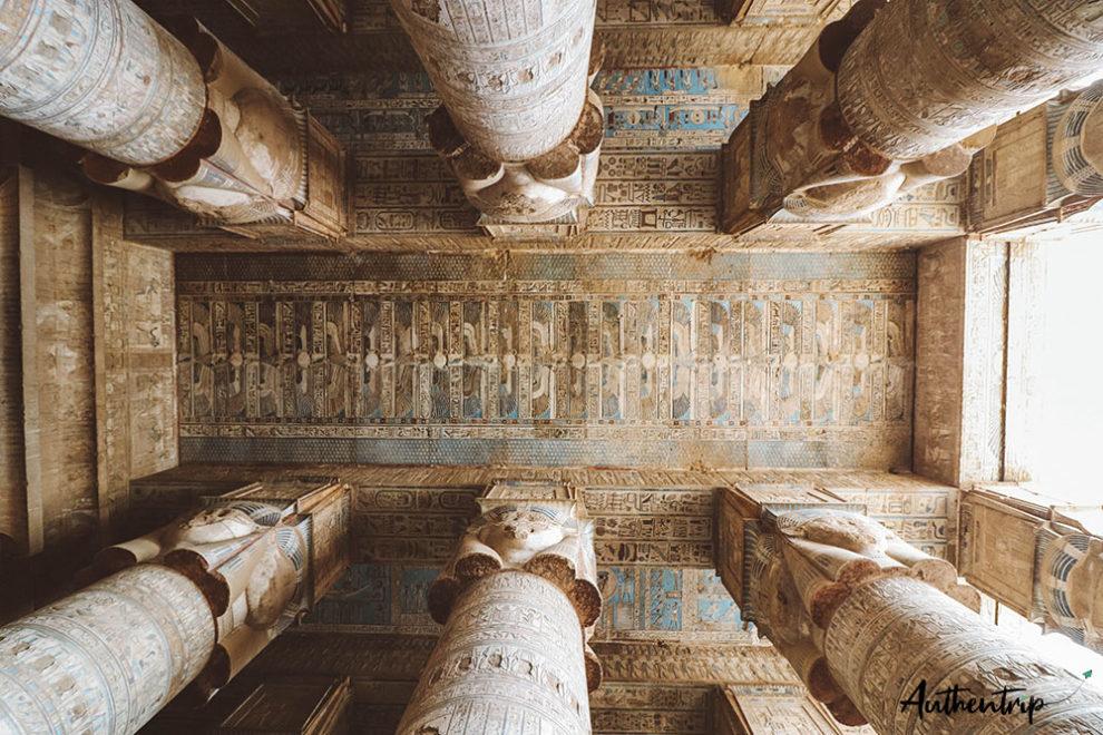 temple denderah plafond