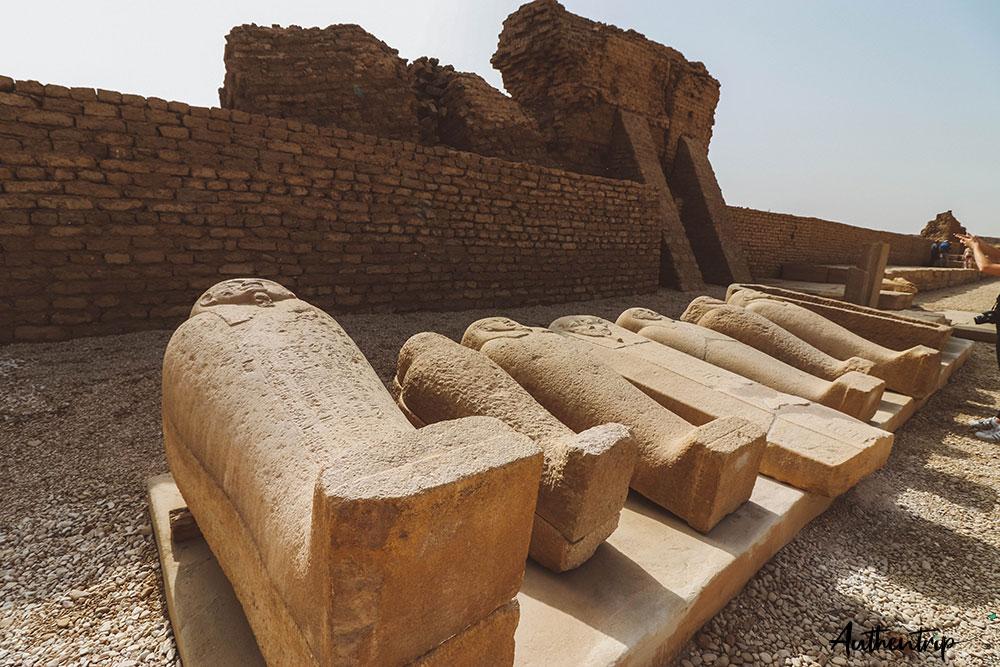 temple denderah sacrophages