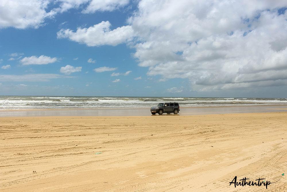 fraser 75 miles beach