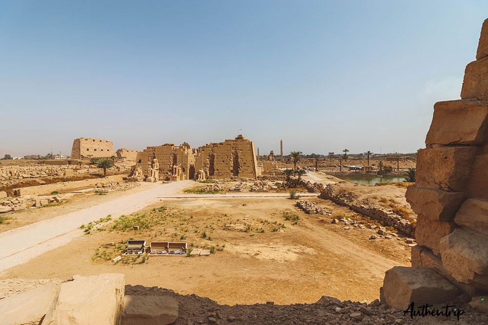 vue temple karnak