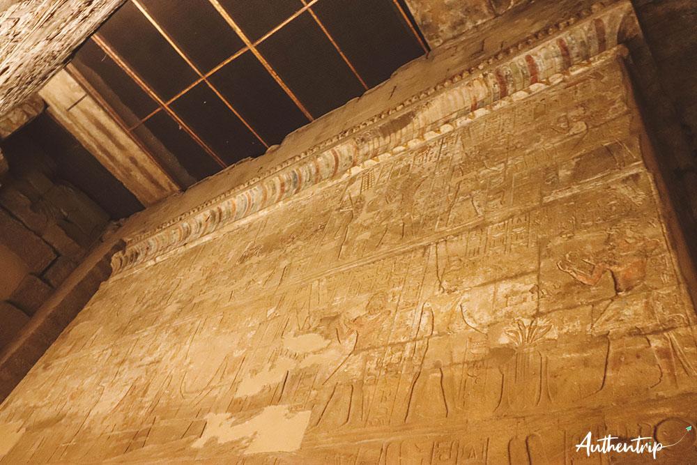 temple louxor mur