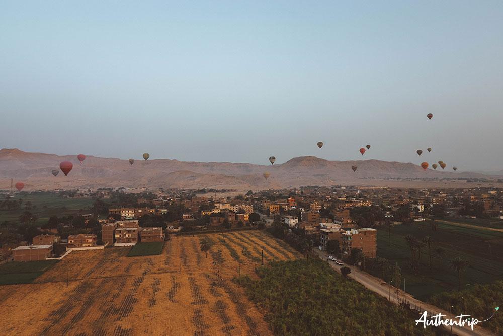 balade en montgolfiere panorama