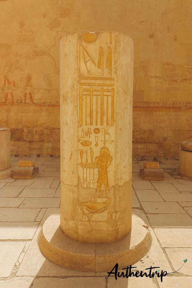 temple hatchepsut colonne