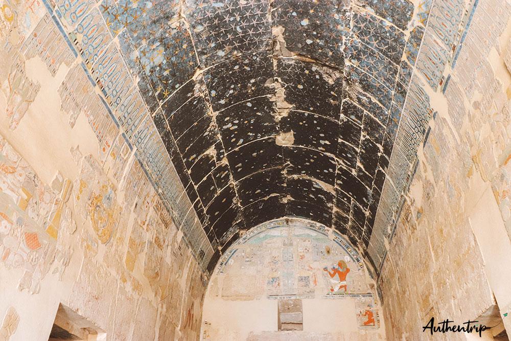 temple hatchepsut sanctuaire