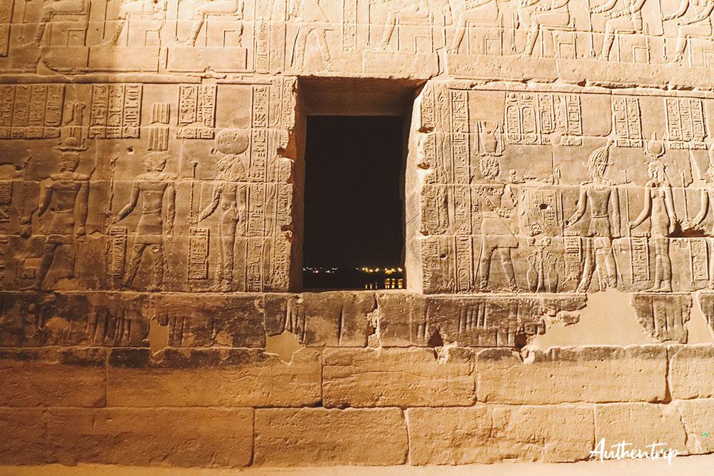 mur à Philae
