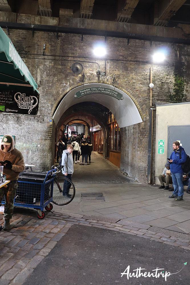 entrée borough market