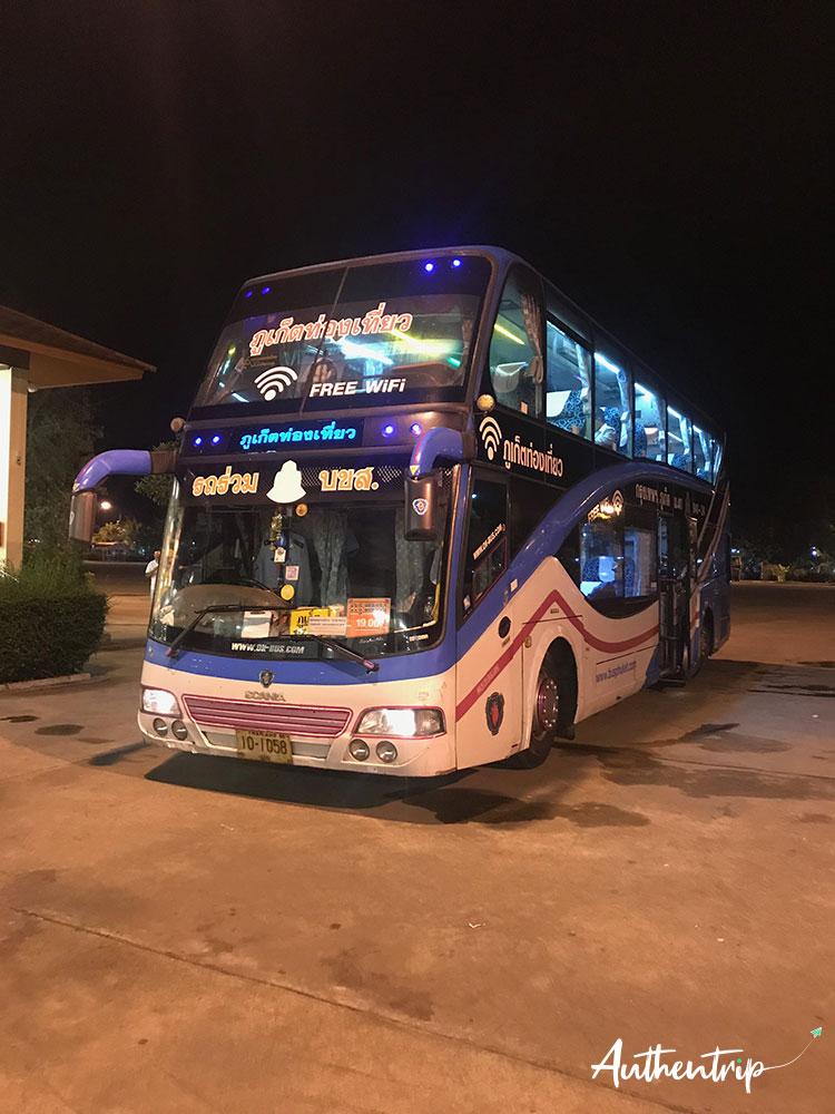 bus phuket bangkok