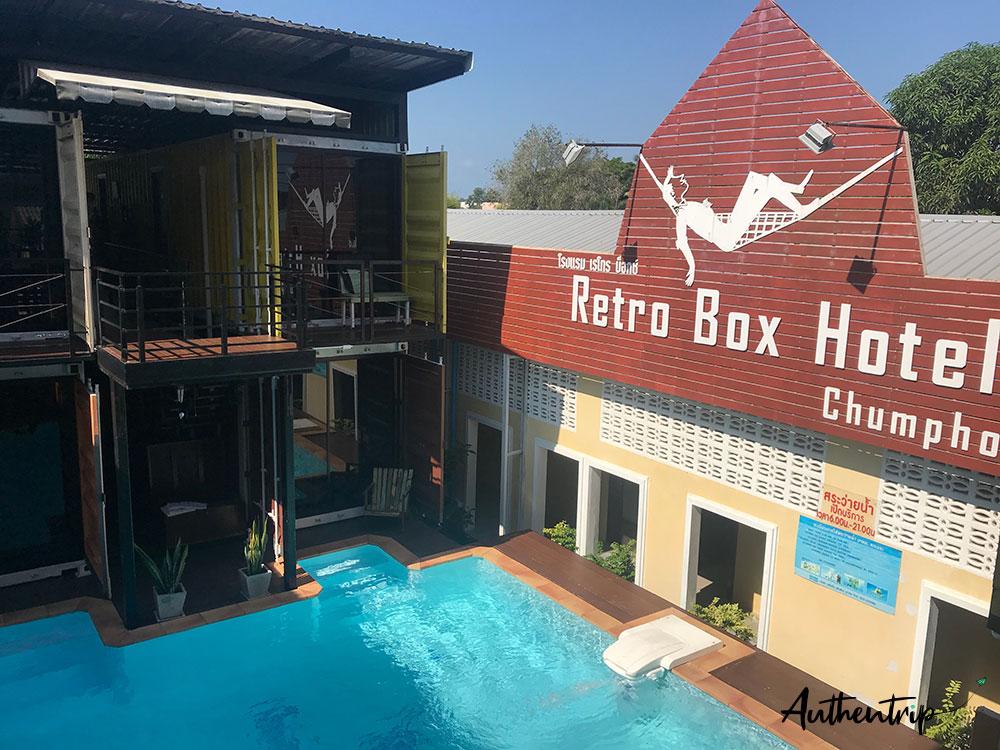 hotel retro box chumphon