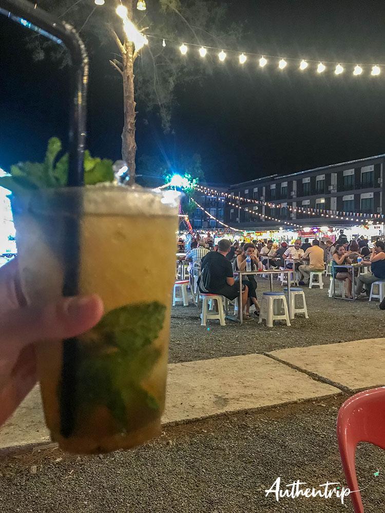 night market krabi mojito