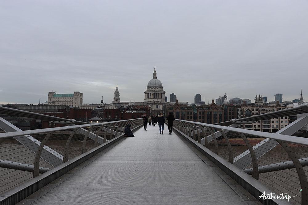 st paul millennium bridge