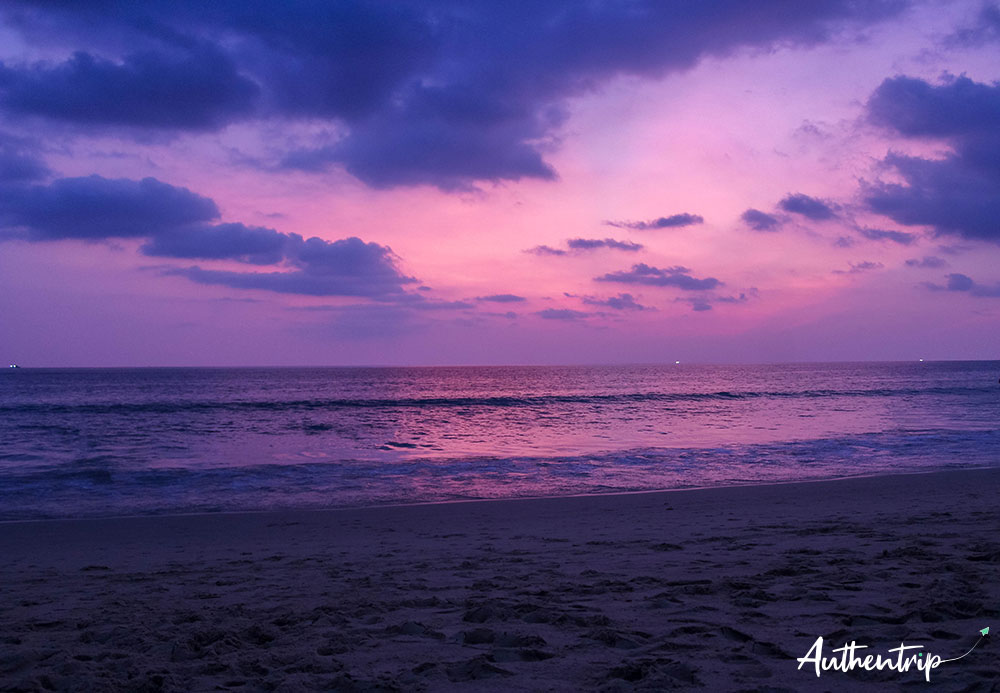 phuket coucher de soleil crépuscule