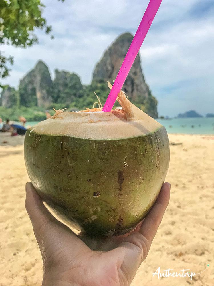 krabi railay beach coco