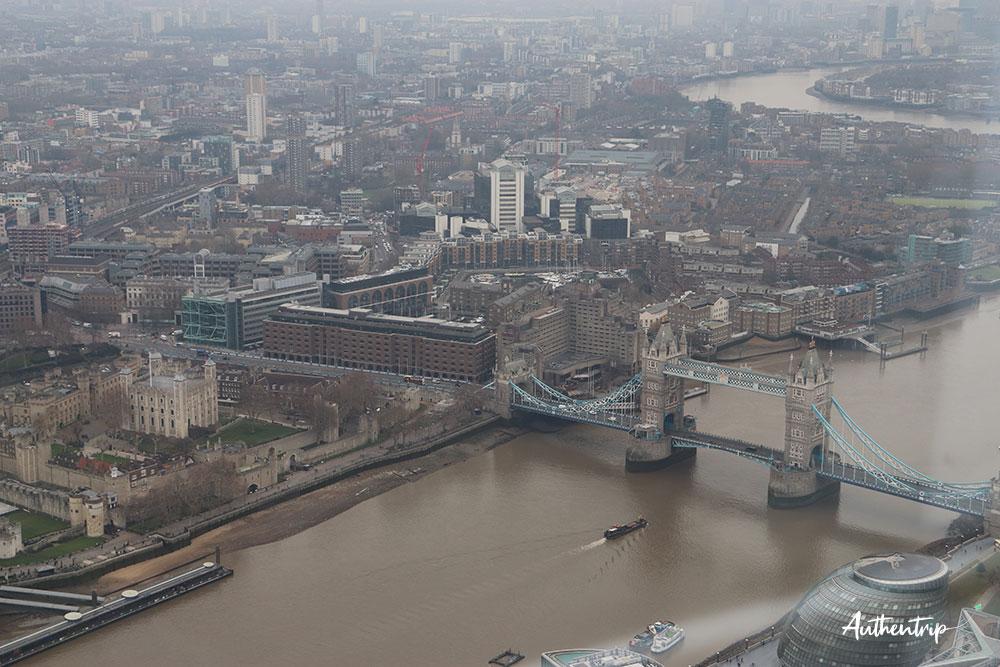 vue du tower bridge