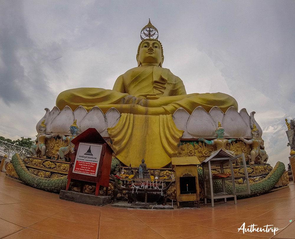 krabi tiger cave temple bouddha