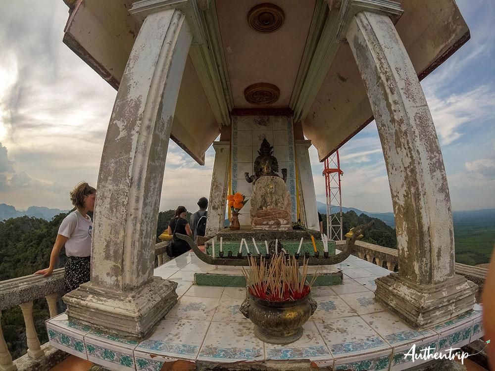 krabi tiger cave temple sommet
