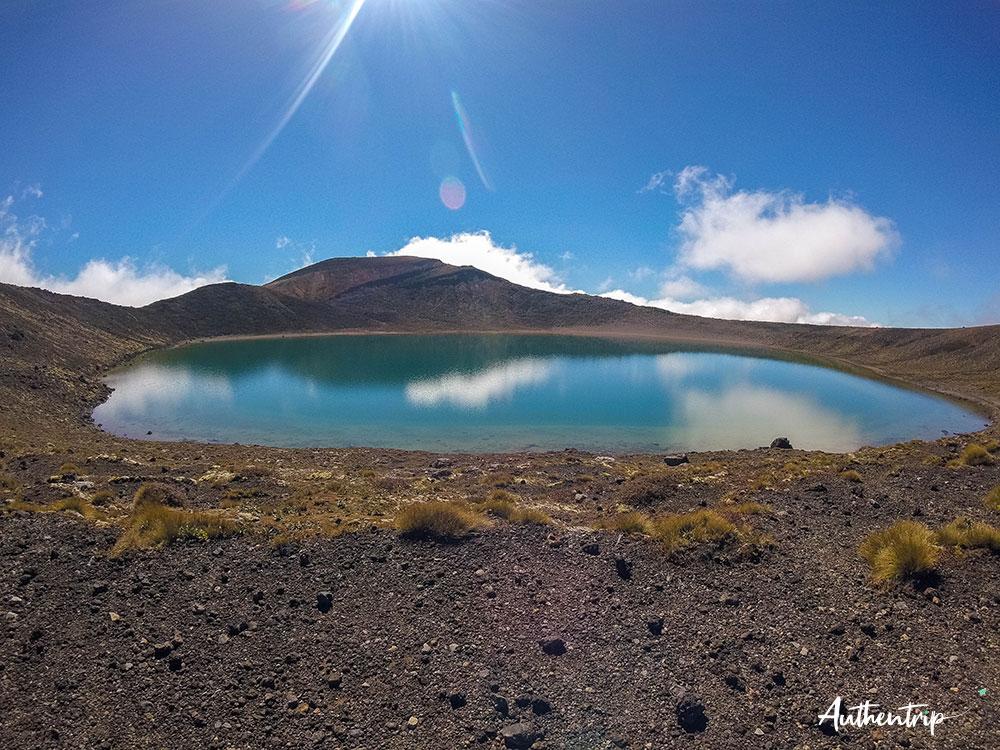 lac bleu maori tongariro