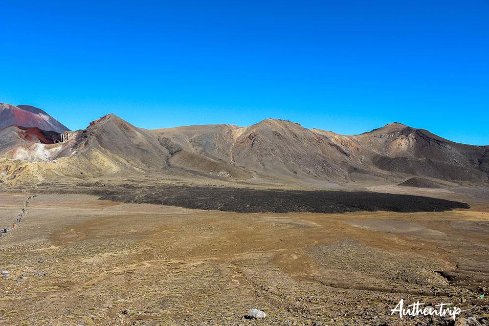 vue central crater tongariro