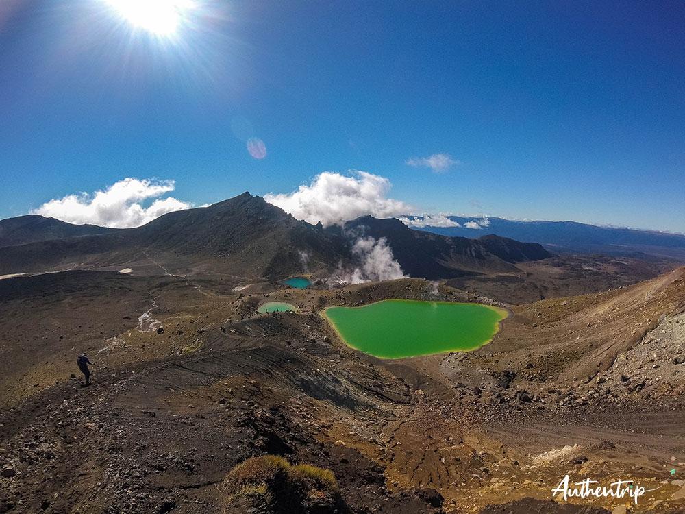 tongariro alpine crossing lacs emeraude