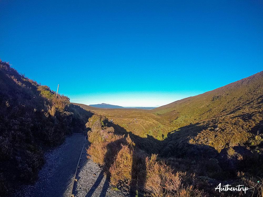 tongariro alpine crossing vallée