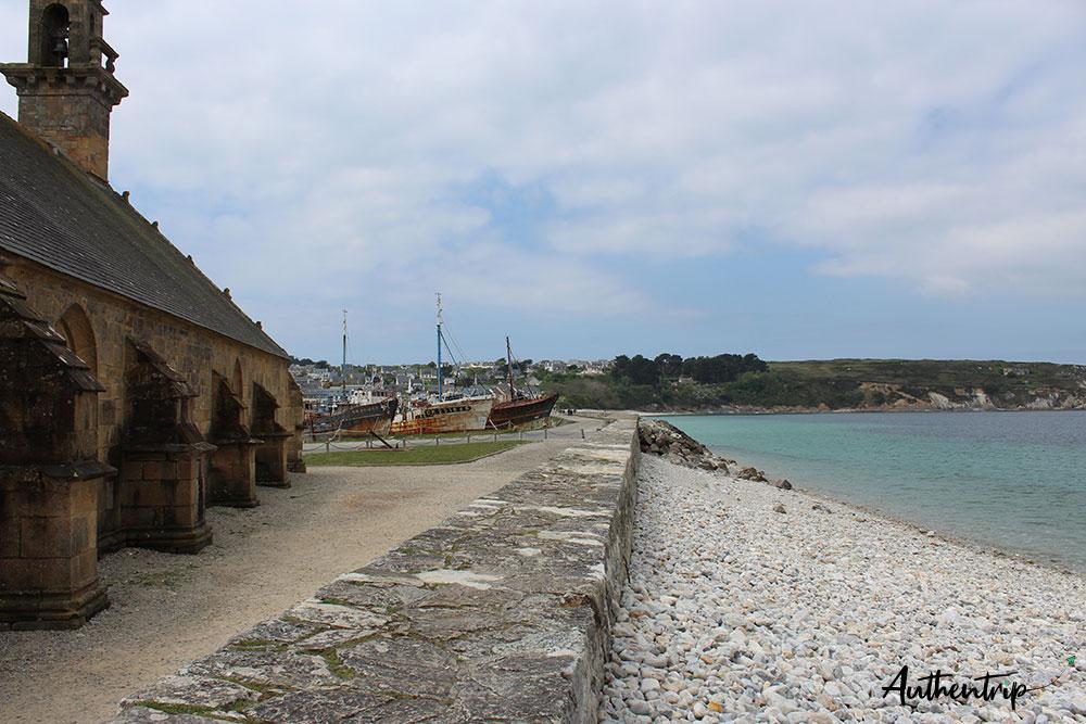 plage bateaux Camaret sur Mer
