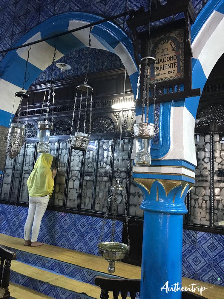 prière synagogue la ghriba djerba