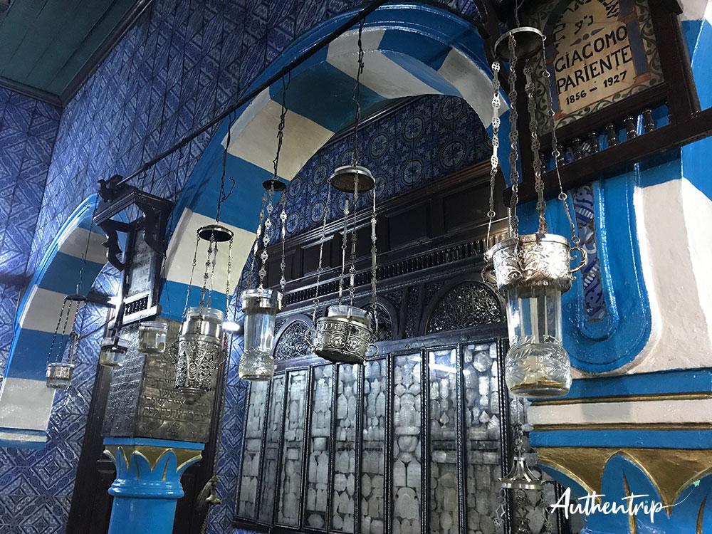 salle prière synagogue la ghriba djerba
