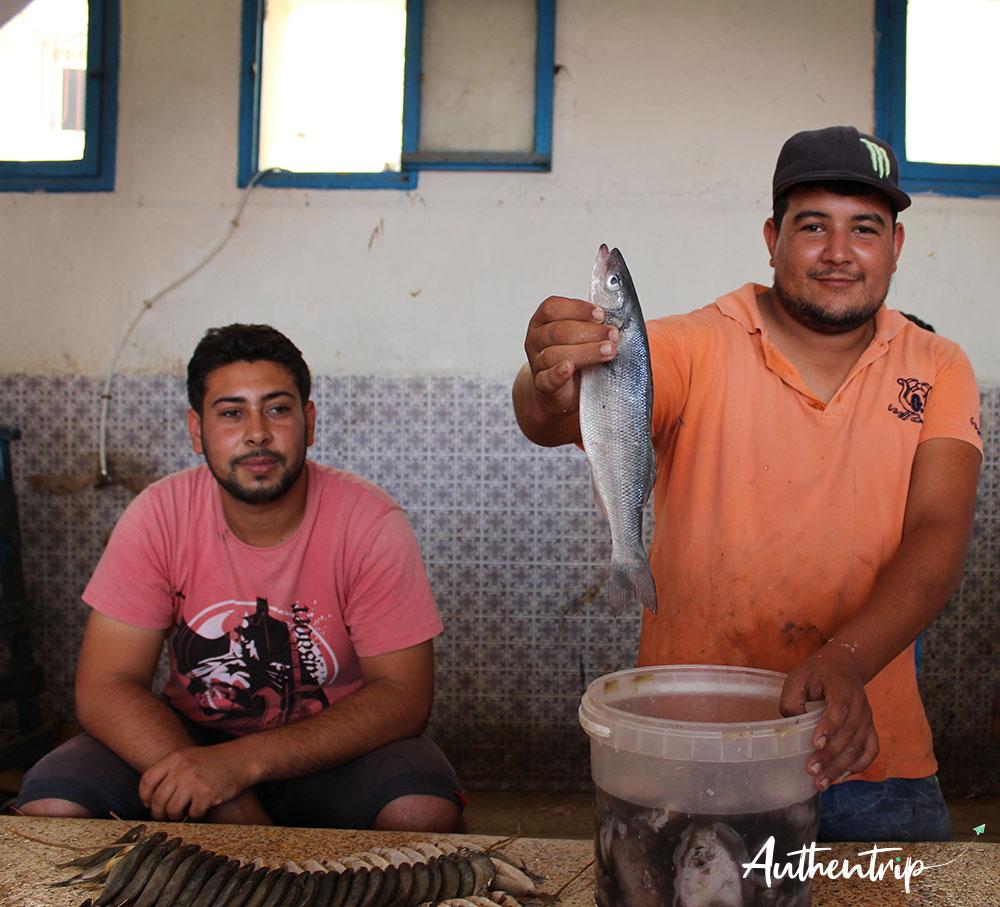 marché au poisson djerba