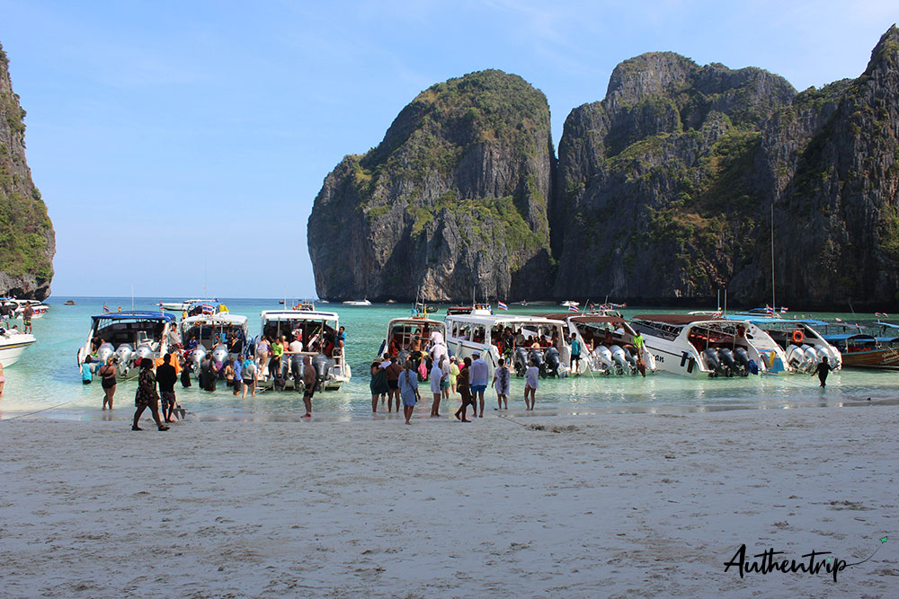 maya bay speedboats