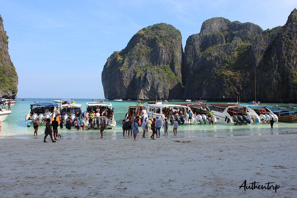 maya bay speedboats