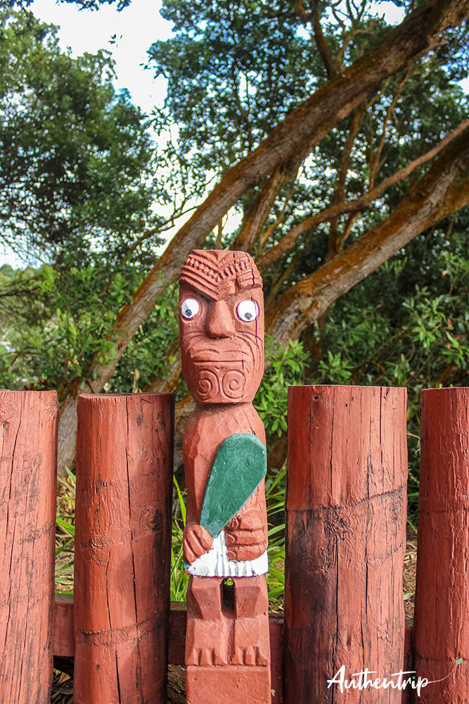 gardien cimetière whakarewarewa