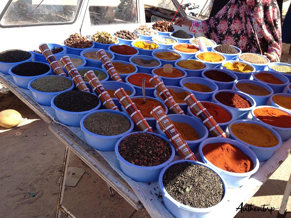 marché épices zarzis