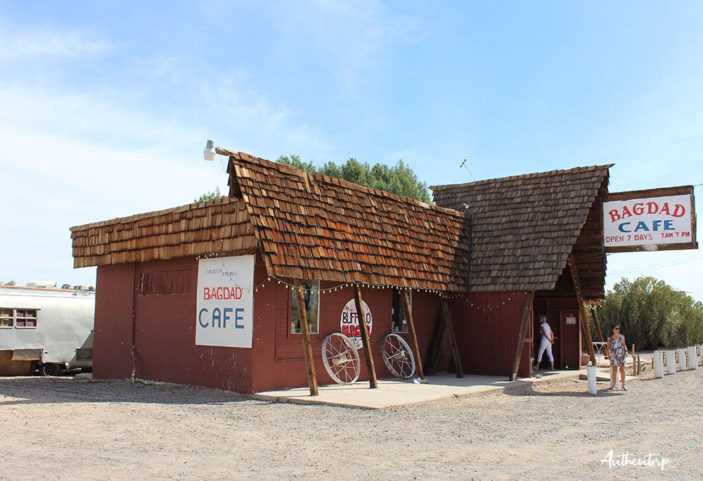 bagdad cafe road trip côte ouest états unis