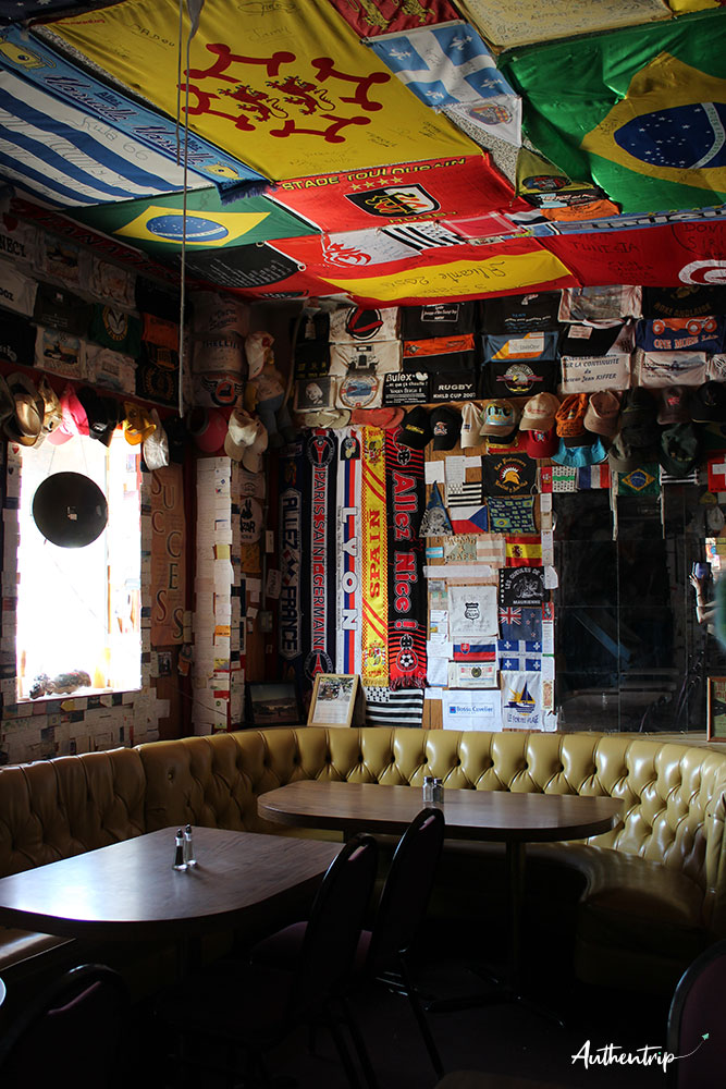 Bagdad Cafe Interieur