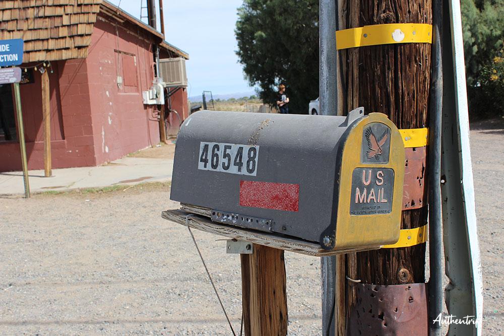 Bagdad Café Mailbox