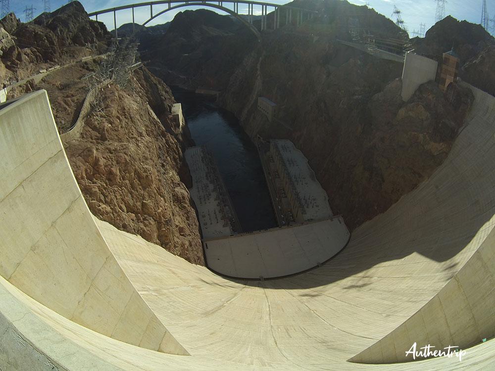 Hoover Dam road trip côte ouest états unis