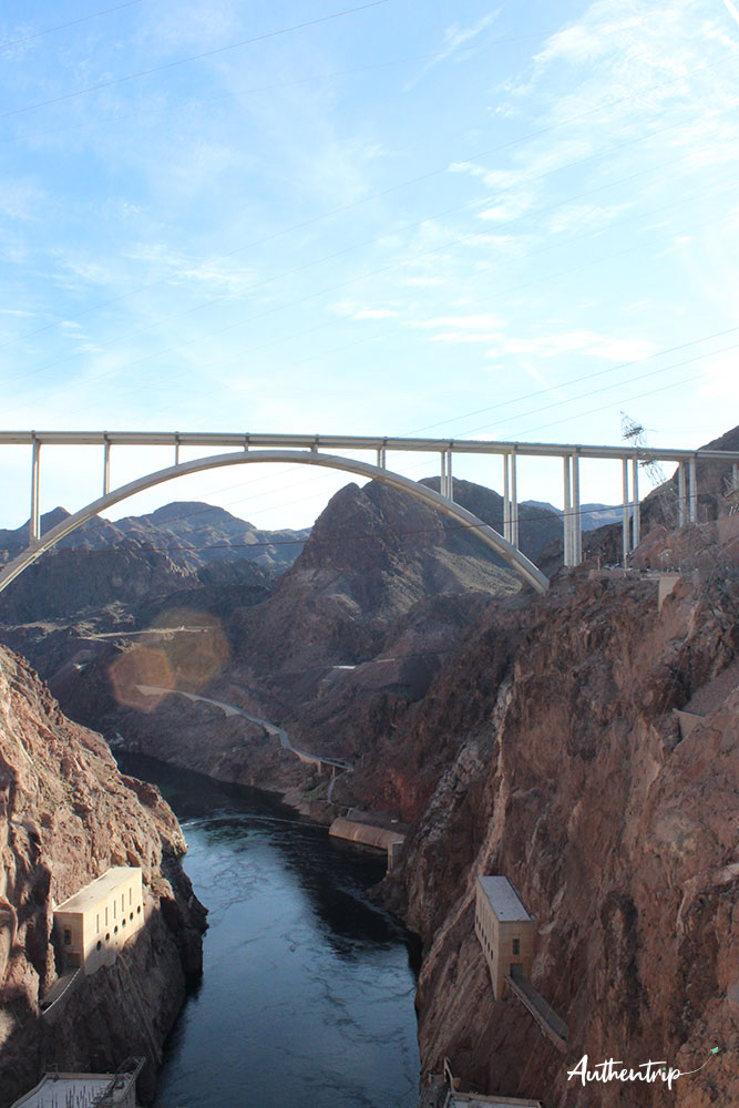 road trip côte ouest états unis Hoover Dam fleuve