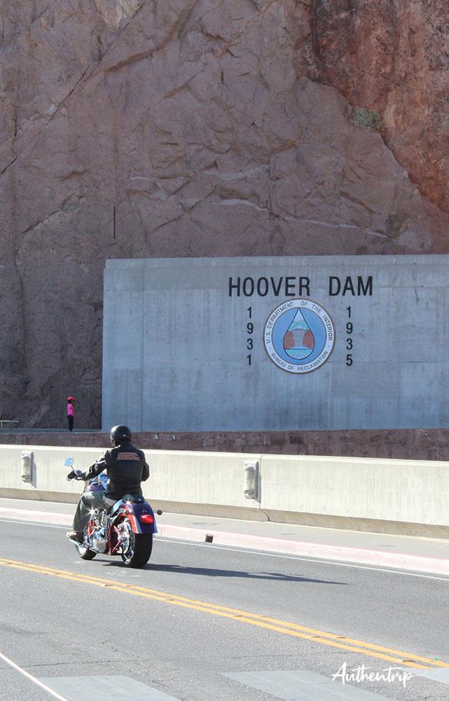 Hoover Dam moto