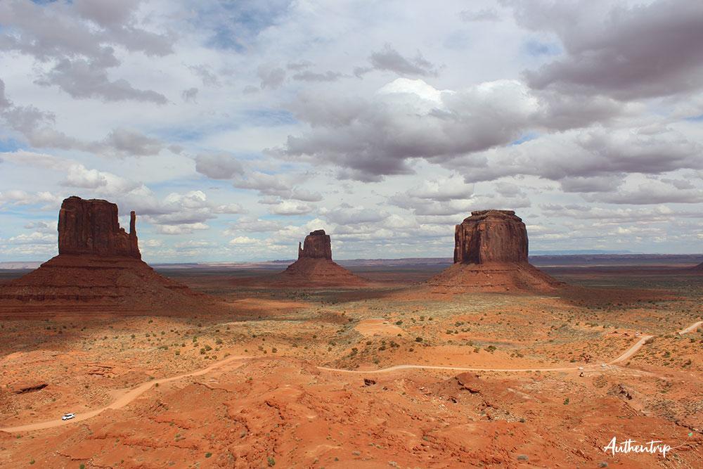 Monument Valley road trip côte ouest états unis