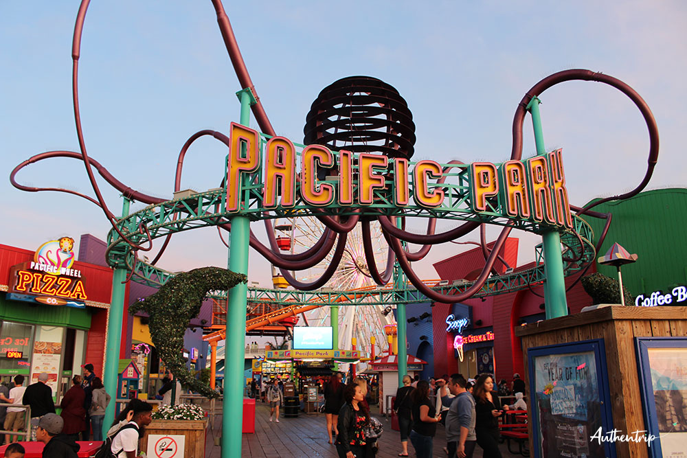 santa monica parc d'attractions
