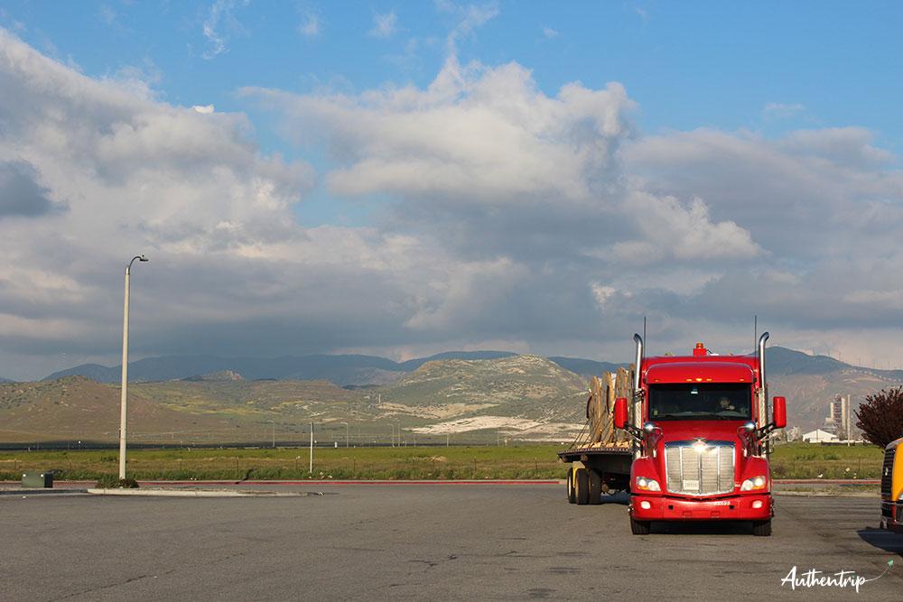 états unis usa camion