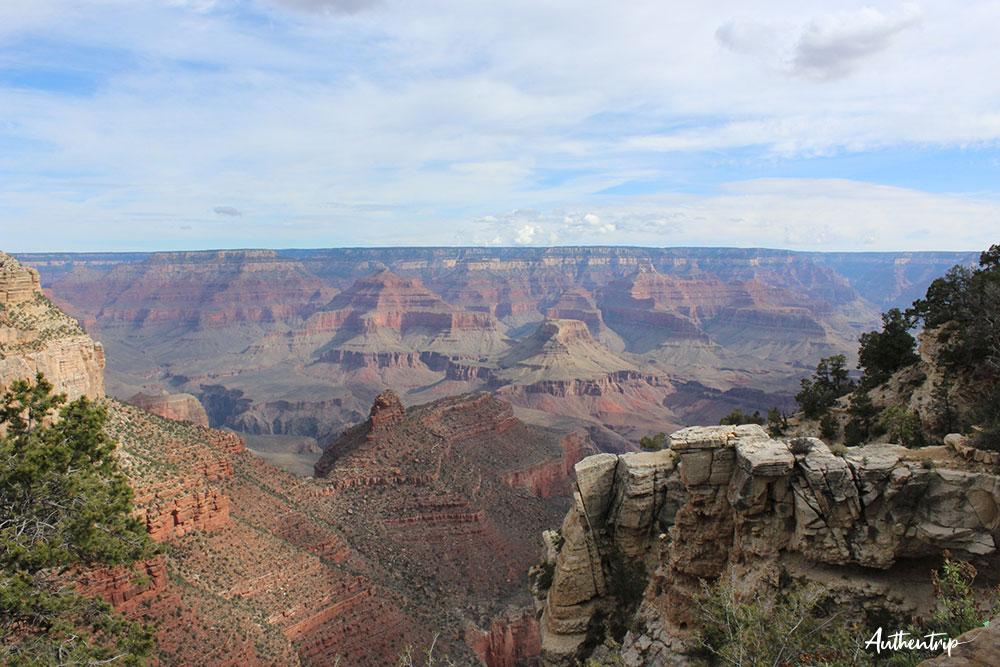 grand canyon road trip côte ouest états unis