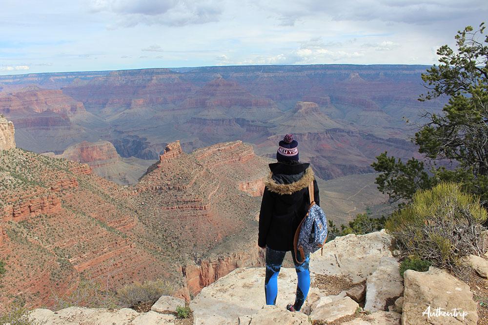 road trip côte ouest états unis Grand Canyon