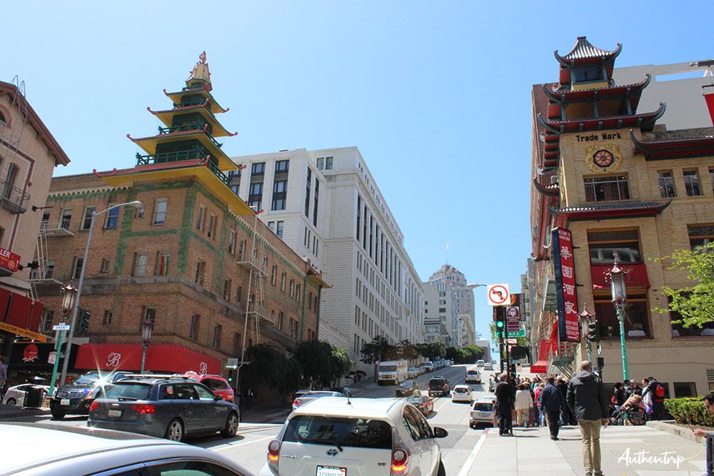 san francisco chinatown road trip côte ouest états unis